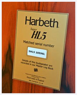 Harbeth-HL5-plack